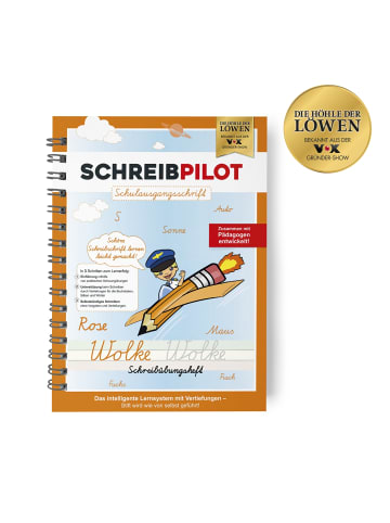 Schreibpilot Heft Schreibschrift - Schulausgangsschrift in Orange