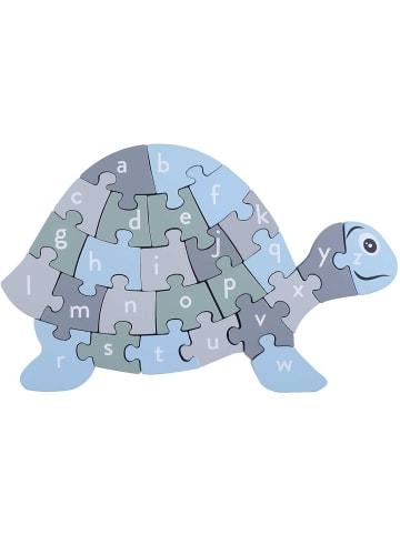 Kindsgut  Buchstaben-Puzzle in Schildkröten Design