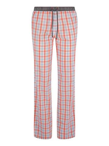 Luca David Pyjama-Pants Olden Glory in Rot/Blau