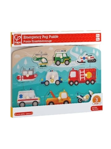 Toynamics Europe Hape Puzzle Einsatzfahrzeuge (Kinderpuzzle)