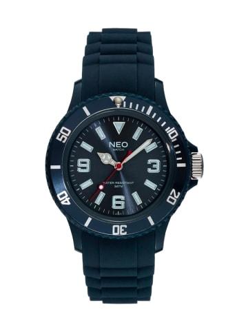 NEO Watch NEO Watch Armbanduhr aus Kunststoff in Dunkelblau