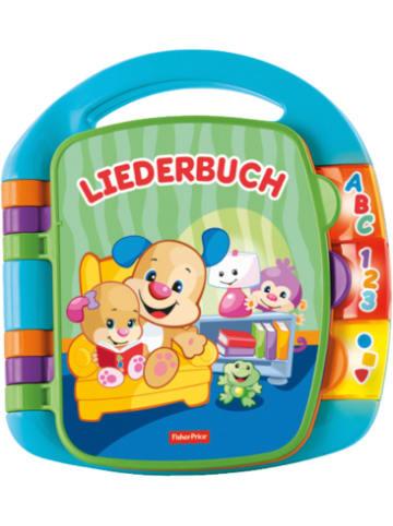 Mattel Fisher-Price Lernspaß Liederbuch (blau), Baby-Spielzeug mit Musik, Lernspie...