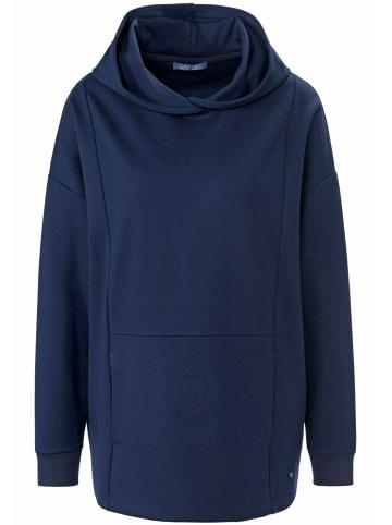 DAY.LIKE Sweatshirt mit überschnittener Schulter in marine