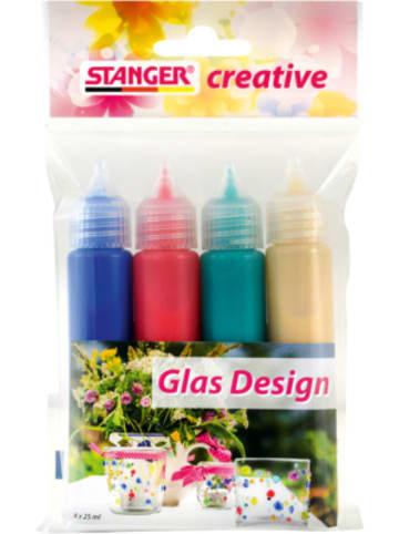 Stanger Glas Design Set, 4 x 25 ml