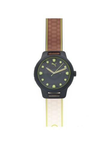 """Puma Time Herrenuhr """"Puma P5025"""" in schwarz und grün"""