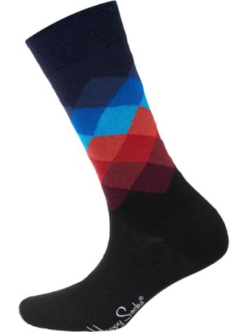 Happy Socks Faded Diamond Sock Socken