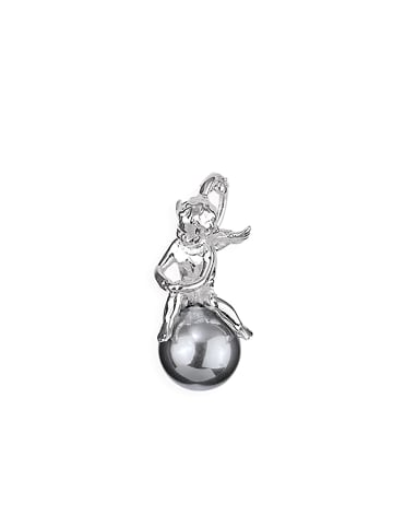 """Heartbreaker Anhänger """"Pearl of Angels 22 mm LDPA33PW-G"""" in silber"""