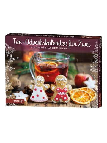 """ROTH Adventskalender """"Tee für Zwei"""" mit 2x24 Teebeuteln"""