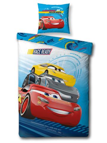 "Disney Cars Jungen Bettwäsche-Set Flanell ""Disney Cars 3"" in Bunt"