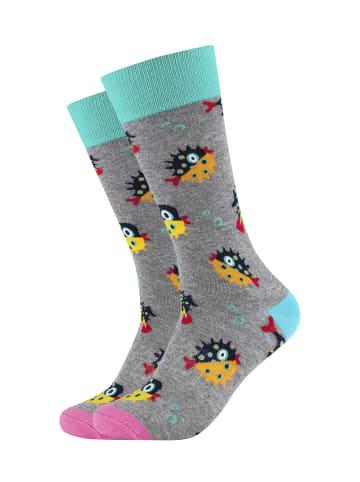 Fun Socks 2er-Pack Socken in Multicolor - 063 Heather