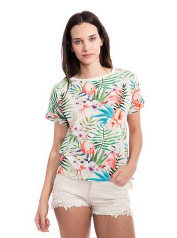 Way of Glory Way of Glory WAY OF GLORY  Blusenshirt mit Dschungel Allover Print in bedruckt