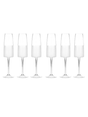 Impressionen Living Sektglas-Set, 6-tlg. in klar/milchig