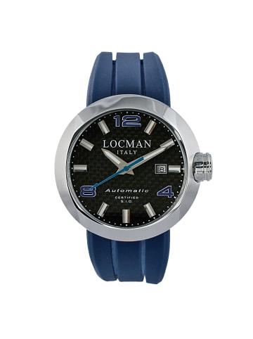 """Locman Herrenuhr """"Stealth 0425"""" in blau und silber"""