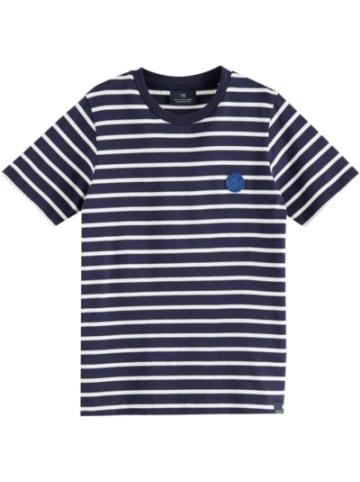 Scotch & Soda T-Shirt T TONAL CHEST ARTWORK IN , Organic Cotton