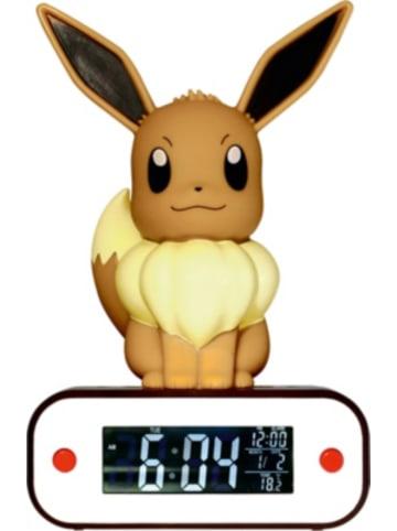 "Pokémon POKÉMON - Digitaler Wecker ""Evolie"" (LED-Lampe)"
