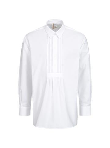 AS Hemden Trachtenhemd in Weiß