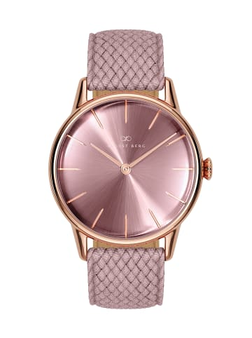August Berg Uhr Serenity Ash & Orchid Perlon 32mm in orchid