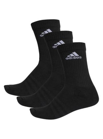 Adidas Performance Socken 3S PER CR HC 3P in Schwarz