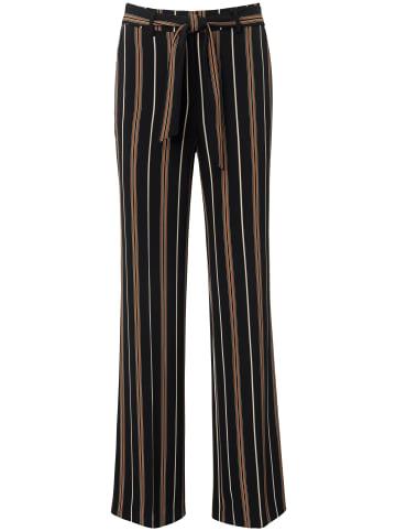 DAY.LIKE Hose Wide-Leg in schwarz/multicolor