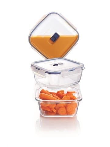 Luminarc Vorratsdosen-Set quadratisch PURE BOX in transparent