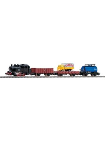 PIKO Start-Set mit Bettung Güterzug