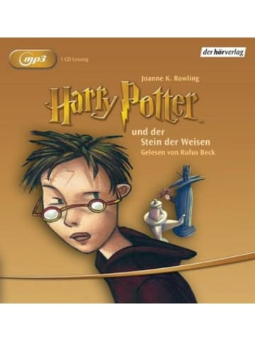 Der Hörverlag Harry Potter und der Stein der Weisen, Audio-CD, MP3