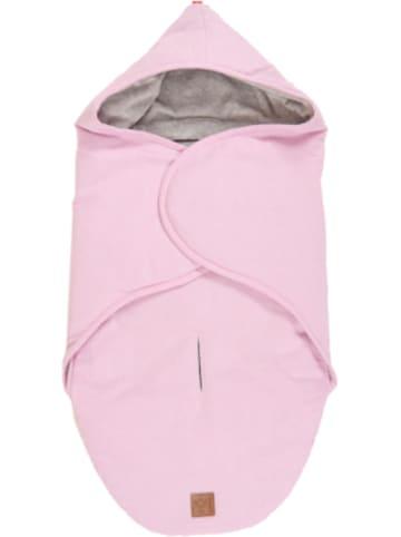 Kaiser Naturfellprodukte Einschlagdecke Molly Melange,rosa melange