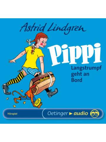 Pippi Langstrumpf CD Pippi Langstrumpf geht an Bord, 1 Audio-CD