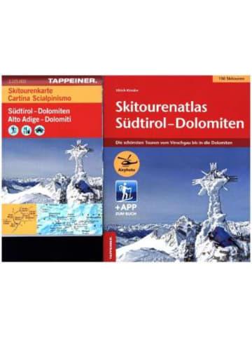 Tappeiner Skitourenatlas Südtirol-Dolomiten