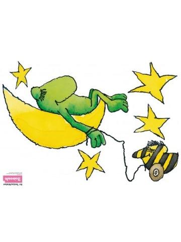 Beiwanda Wandsticker Frosch, Tigerente, Mond und Sterne