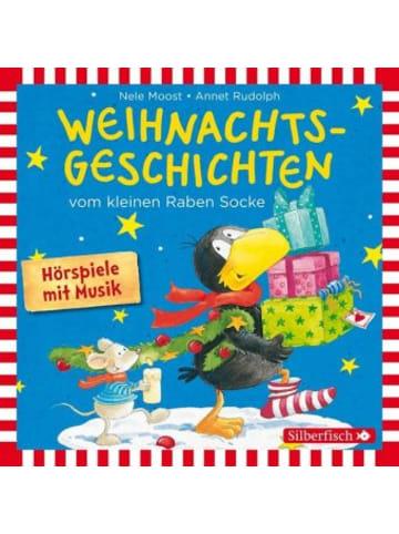 Silberfisch Weihnachtsgeschichten vom kleinen Raben Socke, 1 Audio-CD
