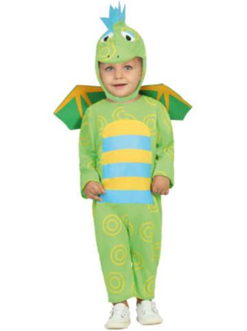 Atosa Kostüm Drache grün