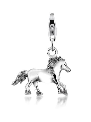 Nenalina Charm 925 Sterling Silber Pferd in Silber