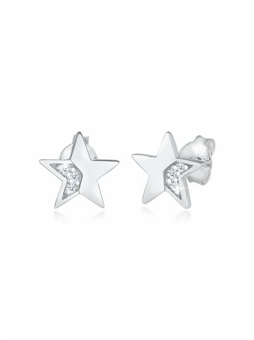Elli DIAMONDS  Ohrringe 925 Sterling Silber Astro, Sterne in Silber