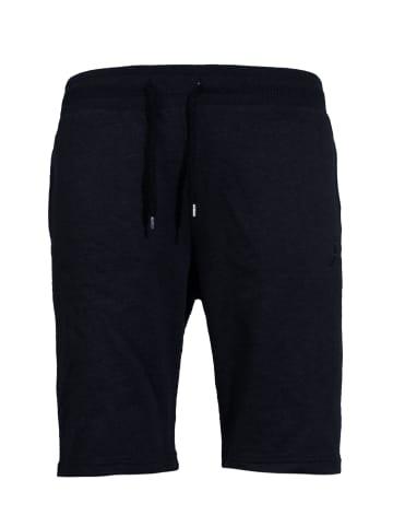 Akito Tanaka Sweat Shorts mit Tunnelzug in black
