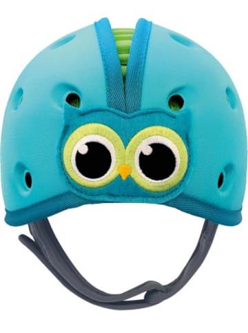 SafeheadBABY REER SHB002 Babyhelm Eule, blau-grün