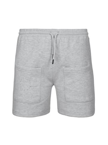 MOROTAI Kurze Sporthose Box Shorts in Hellgrau