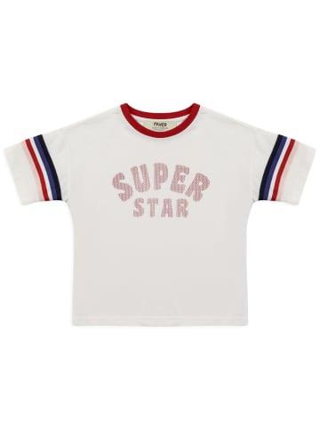 Panco T-Shirt - mehrfarbig - für Mädchen in Weiß