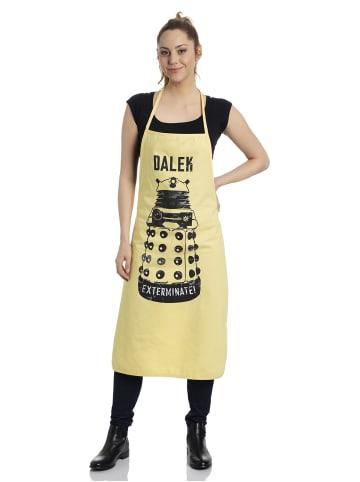 BBC Schürze Doctor Who Dalek Apron in gelb
