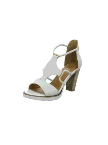 Regarde le Ciel Sandalen/Sandaletten in weiß