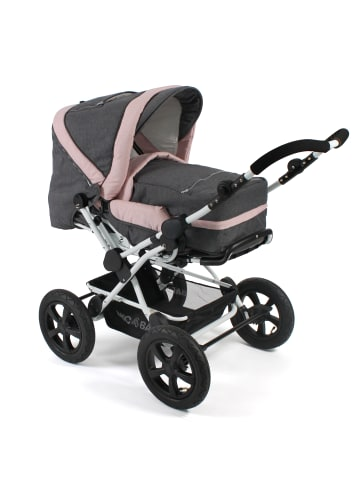 "CHIC 4 BABY Kinderwagen ""Viva"" in Melange rosa"