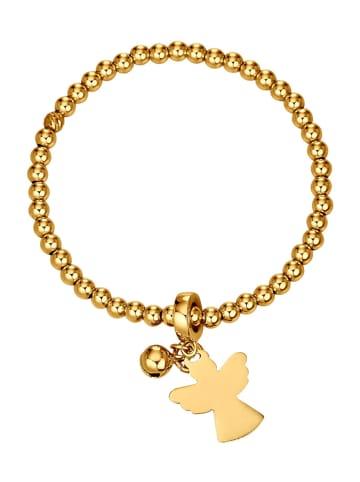 Golden Style Kugelarmband vergoldet in Gelbgoldfarben