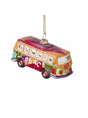 Butlers Anhänger Hippie Bus HANG ON in bunt