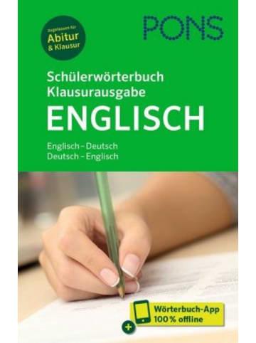 PONS PONS Schülerwörterbuch Klausurausgabe Englisch