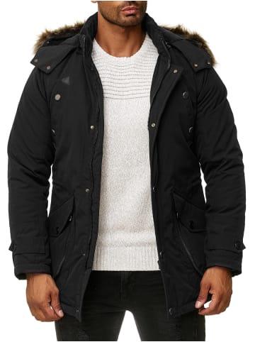 Blackrock Outdoor Jacke mit markanten Reißverschlusstaschen in black