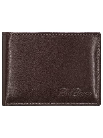 Red Baron Portemonnaie in Braun - (L) 10,5 x (B) 8 cm