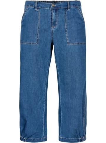 GOZZIP 7/8 Jeans Clara in Denim blue