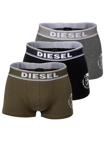 Diesel Boxershort 3er Pack in Schwarz/Grau/Grün