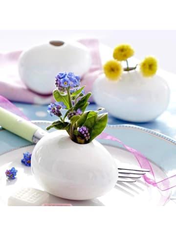 Pureday Vasen-Set, 3-tlg. Mini-Ei, Weiß