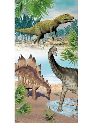 Good Morning Strand- & Badetuch Dino, 75x150 cm